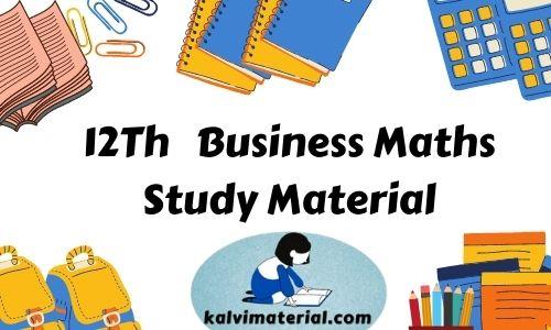 12Th Business Maths