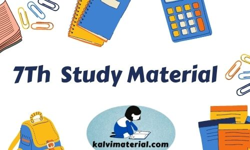 7Th Term  1 Guide And Study Material
